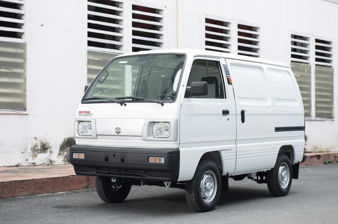 """Sự khác biệt giữa xe tải nhẹ có động cơ Suzuki F10 chính hãng và """"bản sao công..."""